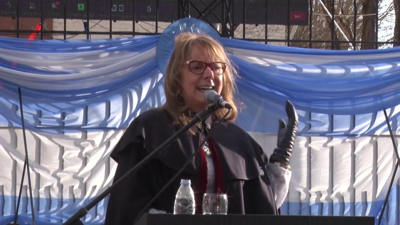 Discurso de la Gobernadora Alicia Kirchner en el 204° Aniversario de la Independencia Argentina