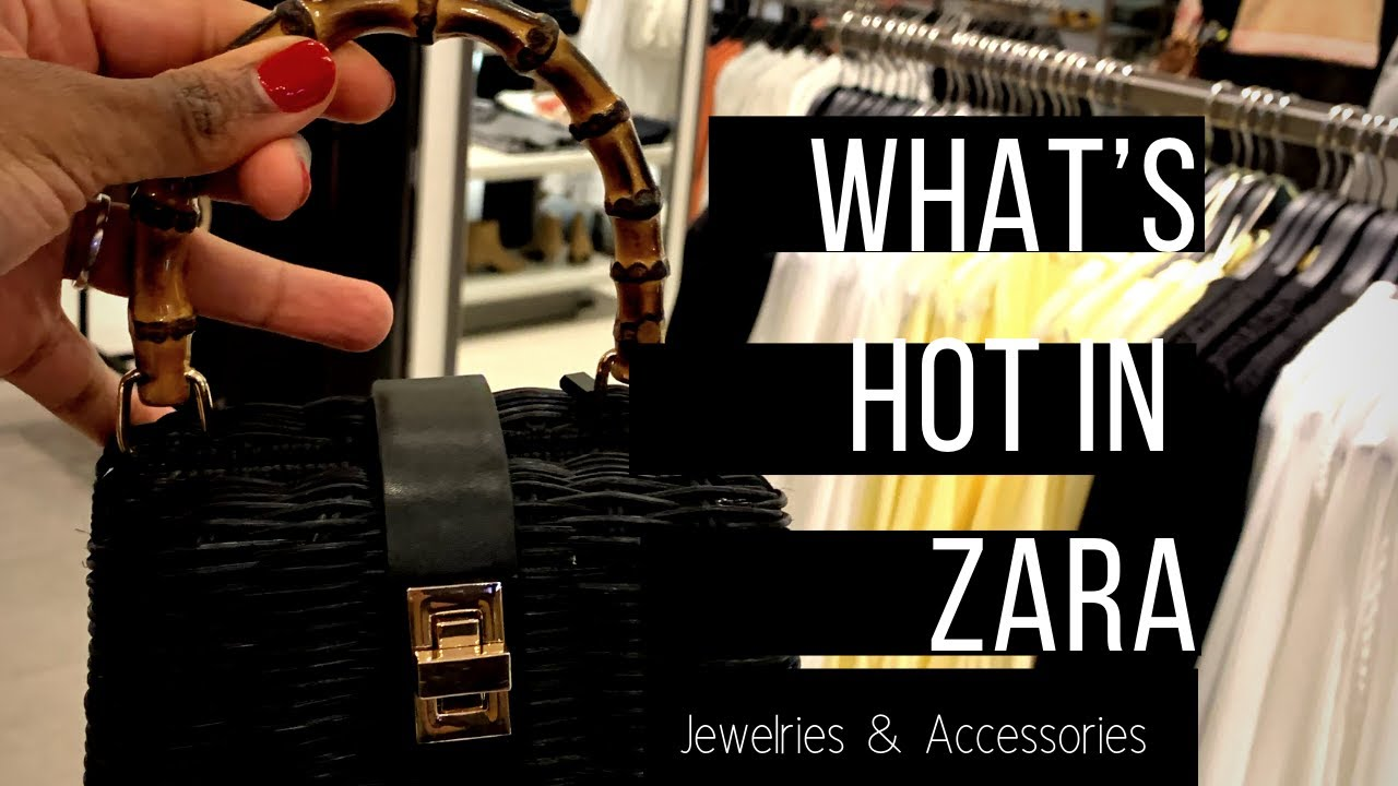 f16ef52260d Spring/Summer 2019 Trends: The Hottest Jewelries and Accessories in Zara 34  Street, New York City