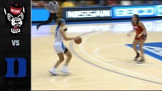 NC State vs. Duke Women's Basketball Highlights (2019-20)