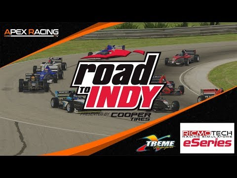 Ricmotech Road To Indy Presented By Cooper Tires IRacing ESeries   Round 1 At Barber