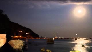 I Sassi di Nerano plenilunio agosto 2015. Un breve video 4K.