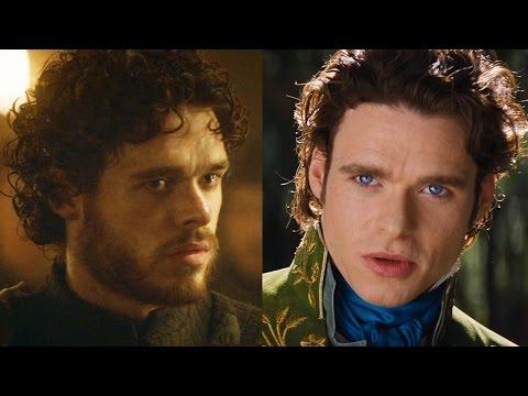 Richard Madden on Game of Thrones Robb Stark & Cinderella