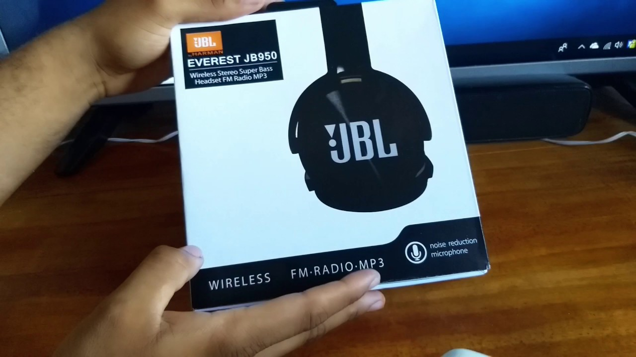 aa9273a42 UNBOXING e REVIEW FONE JBL Bluetooth JB950 EVEREST - YouTube