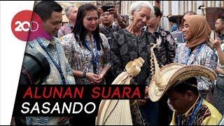 Saat Bos IMF Terpukau dengan Alat Musik Sasando