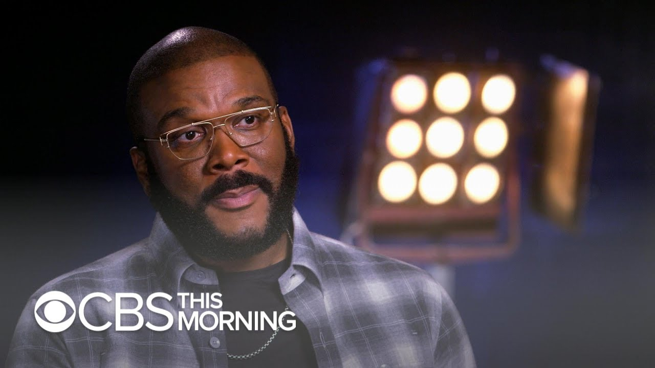 "Tyler Perry on the ""poetic justice"" of building new studio on former Confederate Army base"