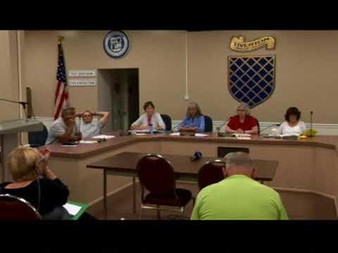 Tiverton Town Council Meeting September 7, 2017