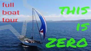 18-This is ZERO - full boat tour (sailing ZERO)