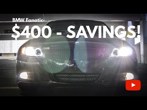 How To Change Your BMW N54 O2 Oxygen Sensors DIY! Save $400!