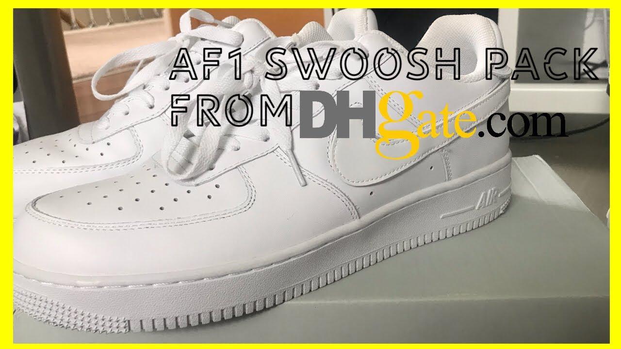 air force 1 swoosh pack