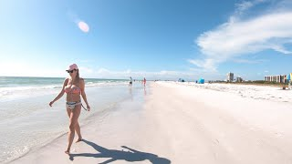 Siesta Key Beach #1 Beach In The USA Sarasota, Florida Walk Tour November 2020