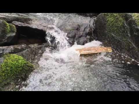 Waterproof Bible | waterfall & paper test
