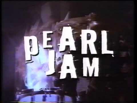 Pearl Jam 1998 Australian Tour Melbourne TV Commercial