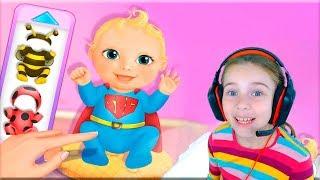 ИГРА В НЯНЮ ДЛЯ ДЕВОЧЕК Видео для детей вместе с Дашей