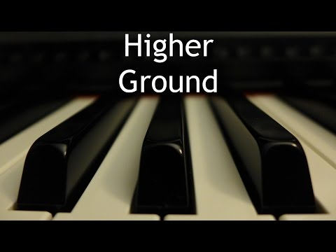 Higher Ground - Piano Instrumental Hymn With Lyrics