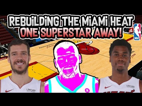Just One Superstar Away. Can We Get One? Miami Heat Rebuild!