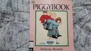 [영어동화]PIGGYBOOK By Anthony Browne - Story Time with Amy♡