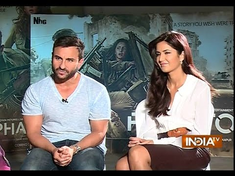 Phantom: Saif Ali Khan and Katrina Kaif Exclusive Interview - India TV