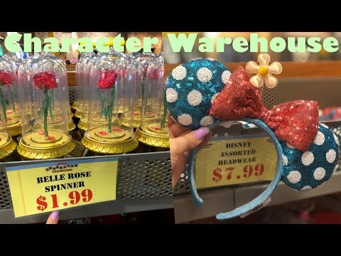 DISNEY OUTLET SHOPPING | CHARACTER WAREHOUSE [7/31/19]