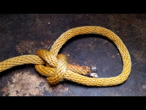 How To Tie The Bowline Knot 3 Ways (Standard, Flying Bowline & One-handed Bowline)