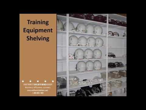 Mobile Athletic Equipment Storage Racks Football Gear Shelving