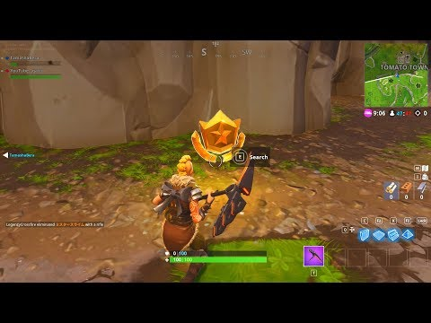 """Follow the treasure map found in Risky Reels""  LOCATION FORTNITE WEEK 1 SEASON 5 CHALLENGES"