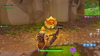 """""""Follow the treasure map found in Risky Reels"""" LOCATION FORTNITE WEEK 1 SEASON 5 CHALLENGES"""