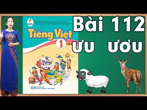 Tiếng việt lớp 1 sách cánh diều tập 2 - Bài 112| Danh van chu cai tieng viet