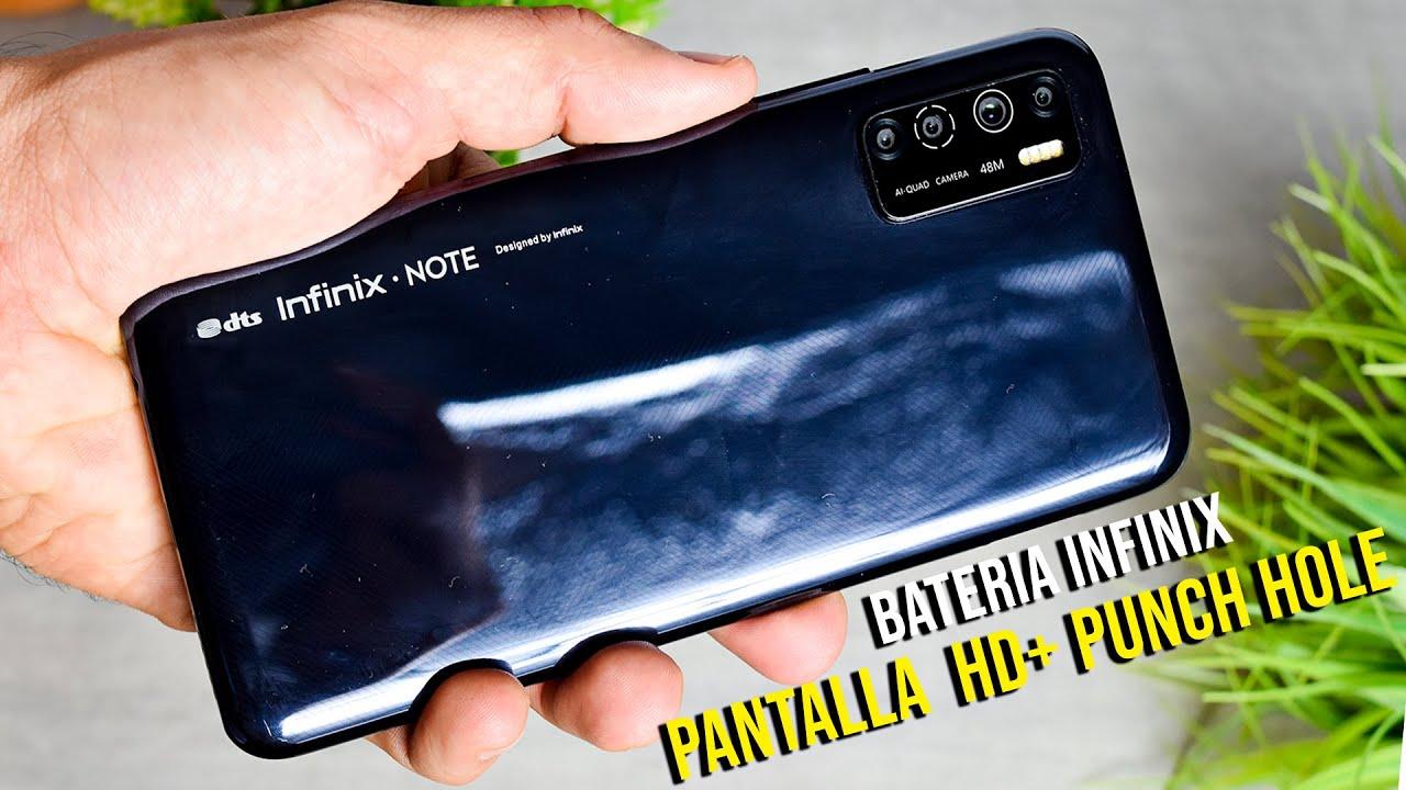 🔥INFINIX NOTE 7 LITE REVIEW ESPAÑOL⭐ Un Smartphone BUENO BONITO Y BARATO 2020