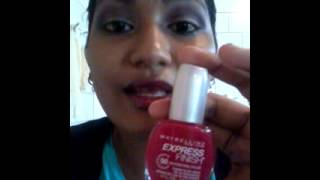 Maybelline Express Finish 50 Second Nail Colour