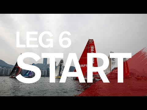 Leg 6 Start in Hong Kong – Full Replay | Volvo Ocean Race