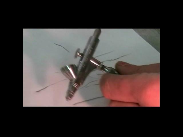 Airbrush oder Spritzpistole Nadel krumm? Kein Problem.
