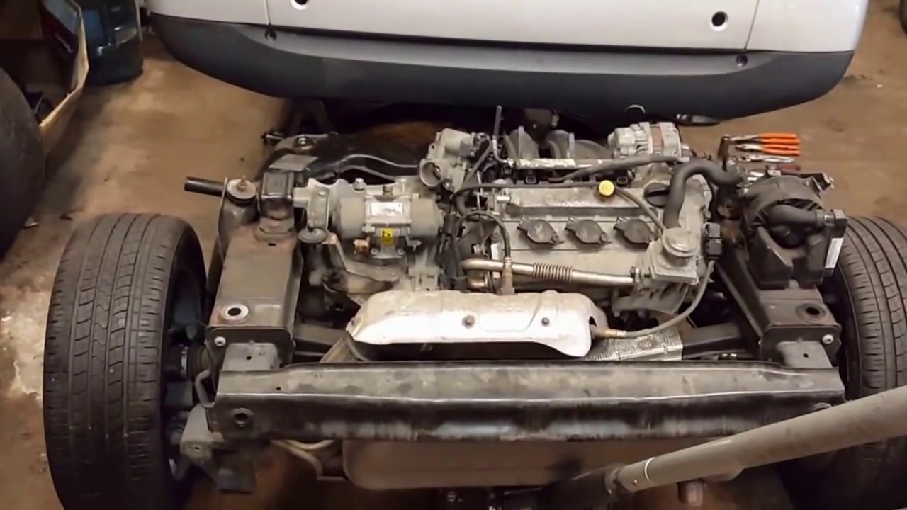 How To Rebuild Automatic Transmission >> Smart Fortwo Engine and Cradle Swap 2012 into a 2008 - YouTube