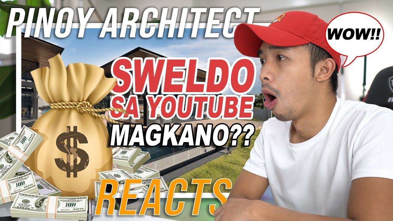 PINOY ARCHITECT REACTS (Oliver Austria) YOUTUBE SWELDO 2020, HOW MUCH MONEY HE EARN? | Dataful