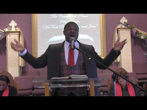 """Pastor D. Edwin Whitehead """"Why Did God Save Me"""""""