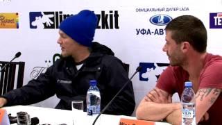 UTV. Группа Limp Bizkit сняла эпизод для своего фильма в Уфе