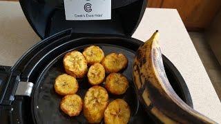 Air Fryer Plantains fried plantains Cook's Essentials AirFryer
