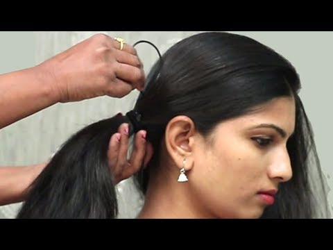 3 Easy Hairstyles For College/Office/Party    Everyday hairstyles for long hair    hair style girl