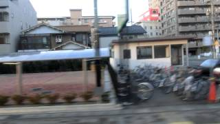 車両は、岐阜西営業所で数少ないいすゞキュービック(下段可動式窓)で...
