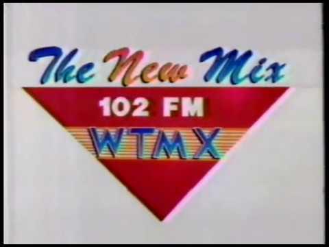 The New Mix 102 FM WTMX radio station  Chicago TV commercial  1989