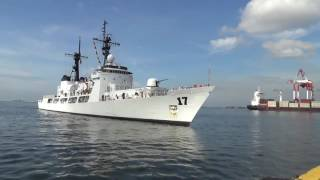 BRP Andres Bonifacio (FF-17) Arrival Ceremony | Armed Forces of the Philippines