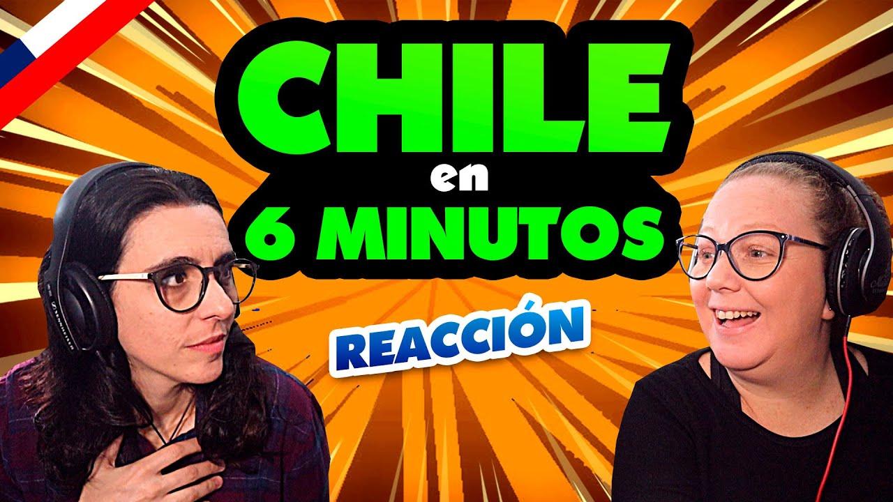 ARGENTINAS de Modo Turista REACCIONAN a 👉 CHILE en 6 MINUTOS