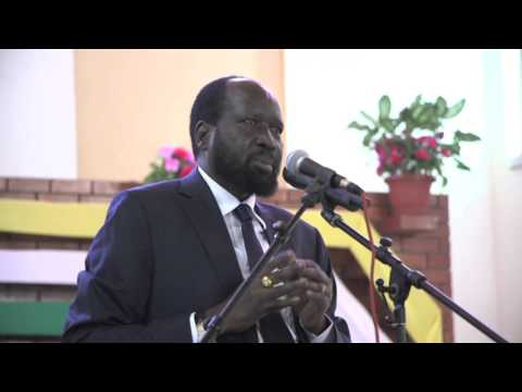 President Salva Kiir Christmas Massage