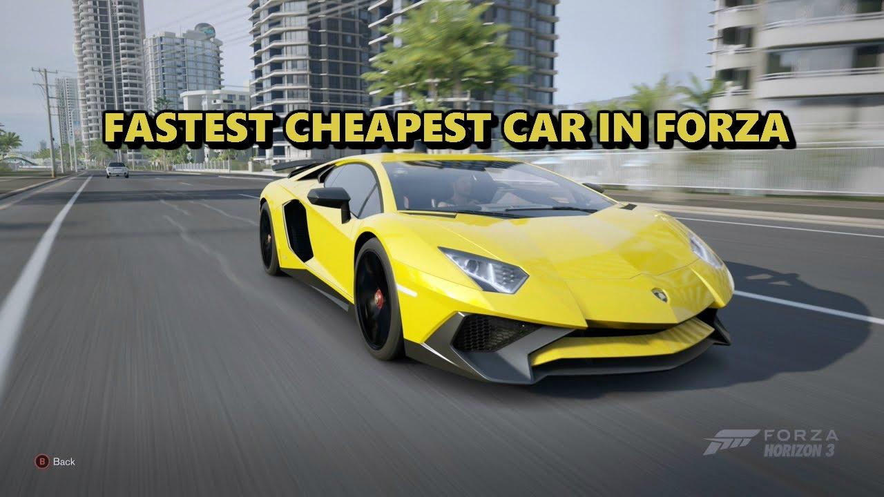 Horizon  Fastest Car