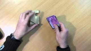 Видео обзор кардхолдер модель №07, Video Review cardholder model №07