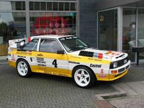Audi quattro/sport quattro s1 80's/ 90's (photos) - YouTube