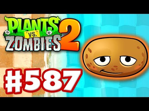 Plants vs. Zombies 2 - Gameplay Walkthrough Part 587 - Hot Potato on Big Wave Beach!