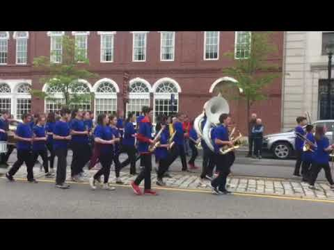 Rundlett Middle School marching band