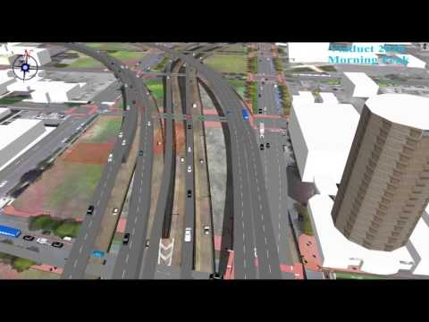 I-81 alternatives: see details of the raised freeway plan through Syracuse (video)
