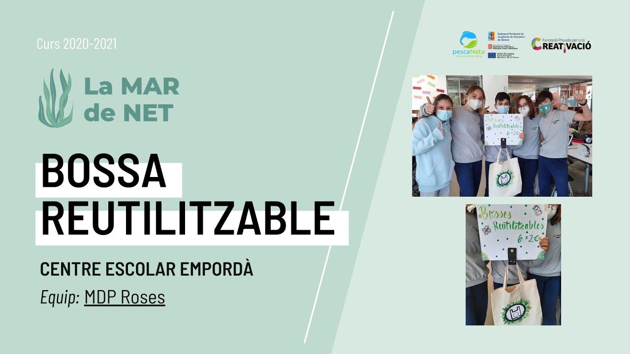 """""""Bossa Reutilitzable"""" - Centre Escolar Empordà"""