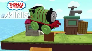 Thomas and Friends Minis - The Rapid River Percy Jumps! Thomas Minis! ★ iOS/Android app (By Budge)
